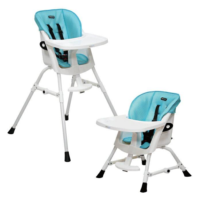 ViViBaby - 蜂巢式立體座墊高低兩段高腳餐椅 0