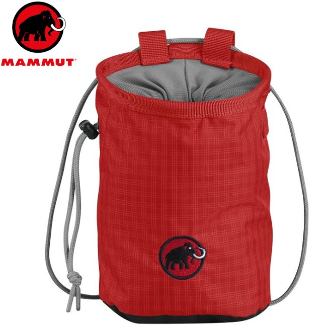 Mammut 長毛象 Basic Chalk Bag 攀岩粉袋 2290-00372 3271 罌 粟紅