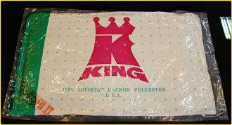 老K牌彈簧床-杜邦絲棉枕頭