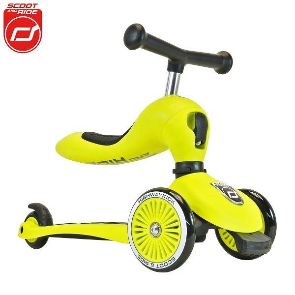 【領券再折】奧地利【Scoot&RideCool】飛滑步車滑板車(黃)