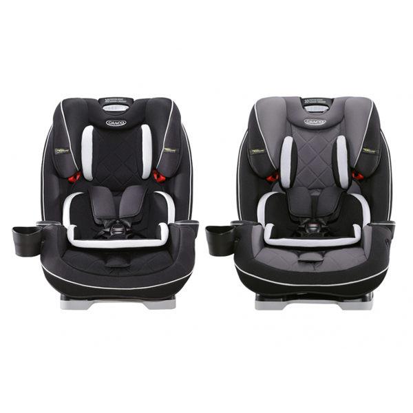 【GRACO 】SLIMFIT LX 0-12歲長效型嬰幼汽車安全座椅-酷黑宇宙/銀灰巨岩