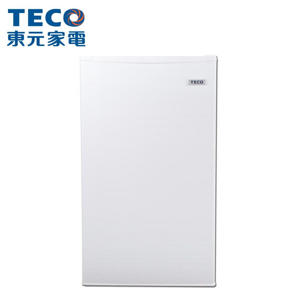 [TECO 東元]99公升 單門小冰箱 R1091W