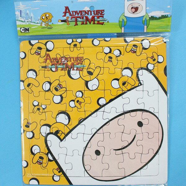 探險活寶老皮與阿寶拼圖 42片拼圖 PUZ0174 幼兒卡通拼圖(中方形/加厚)MIT製/一個入{促80}~正版授權~