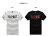 ☆BOY-2☆【KK5440】短袖T恤簡約休閒素面竹節棉融化英文印花短T 1