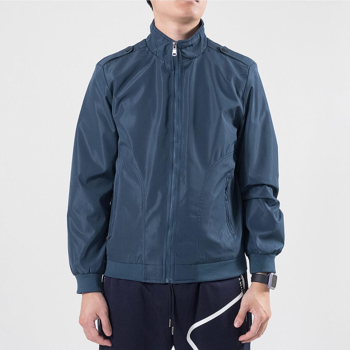 軍裝外套 修身夾克外套 立領素面外套 鈕扣肩章外套 格紋內裡薄外套 防風外套 潮流時尚休閒外套 風衣外套 黑色外套 Military Jacket Men's Jackets Windproof Jackets Button-up Epaulets (321-8025-01)咖啡色、(321-8025-02)藍綠色(321-8025-04)黑色  L XL 2L 3L 4L (胸圍109~124公分  43~49英吋) 男 [實體店面保障] sun-e 5