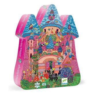 DJECO智荷 - 左右腦拼圖 - 仙子城堡 The Fairy Castle (拼圖屋) 5Y+
