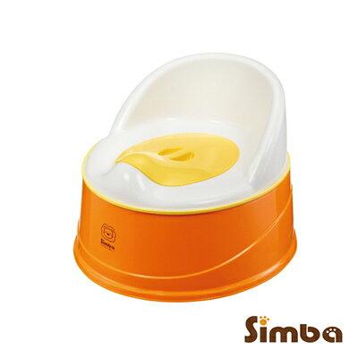 小獅王四合一成長學幼兒便器(橘)【樂寶家】