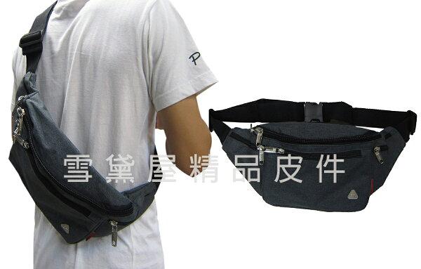 ~雪黛屋~GRENADE臀包大容量主袋6吋機護套工作胸前包防水尼龍布貼身防盜隨身物品青少全齡適用014G0591