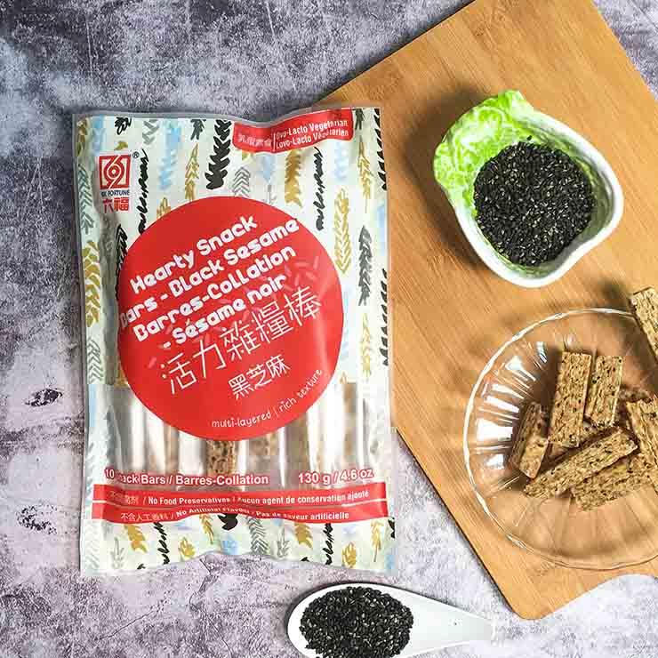 【熱銷】活力雜糧棒 - 黑芝麻口味130g  /  獨立包裝  /  方便攜帶  /  品質保證 - 限時優惠好康折扣