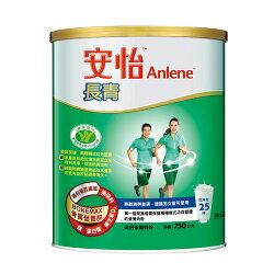 安怡長青高鈣奶粉750g【愛買】