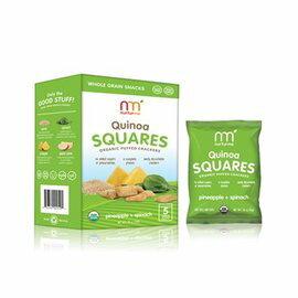 【好優Hoyo】美國原裝 NurturMe幼兒有機餅乾----有機藜麥,鳳梨,菠菜