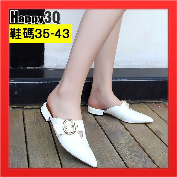 尖頭涼鞋拖鞋性感女鞋43加大碼42尺碼41-多色35-43【AAA4684】