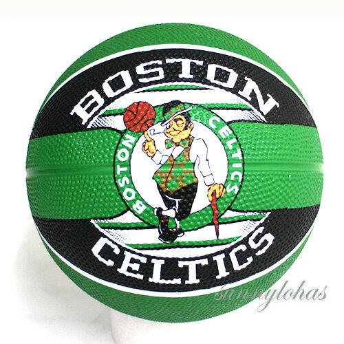 【SPALDING斯伯丁】NBA籃球Jr兒童3號球Celtics塞爾提克隊徽SPA83605[陽光樂活]