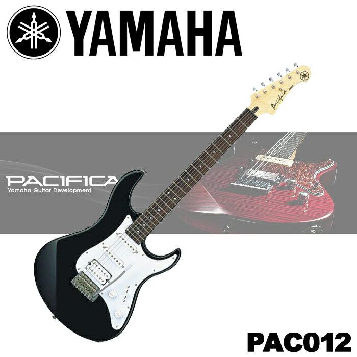 【非凡樂器】YAMAHA Pacifica系列 電吉他【PAC012/黑色/全配件贈送】送GUITAR LINK界面