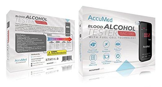Accumed Alcohol Breathalyzer 2