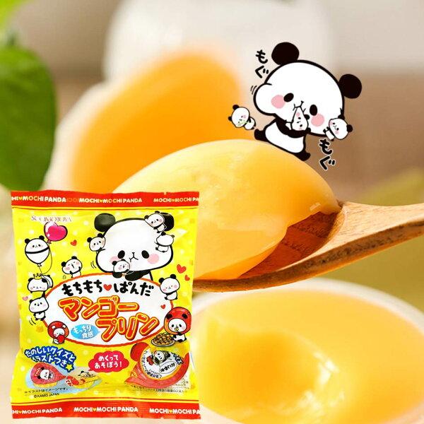 【SUGIMOTOYA杉本屋】麻糬熊貓迷你芒果布丁6入132gもちもちぱんだマンゴープリン日本零食