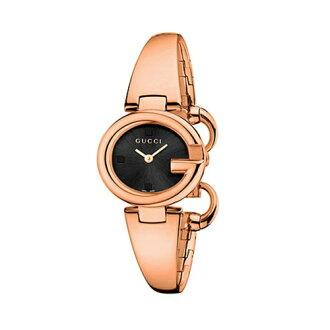 GUCCI SSIMA高雅手鐲腕錶/玫瑰金/YA134509