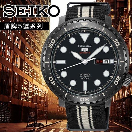 SEIKO日本精工盾牌5號軍事風機械腕錶4R36-06N0XSRPC67J1公司貨