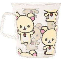 【真愛日本】13040100020 耐熱杯-奶熊多姿 SAN-X 懶熊 奶妹 奶熊 開水杯 花茶杯 水杯 耐熱杯 杯子