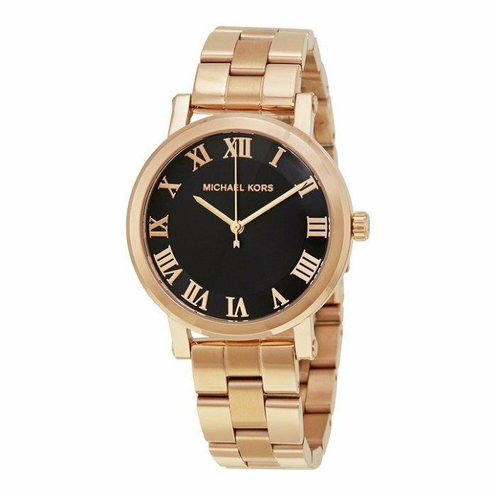 美國百分百【全新真品】Michael Kors 手錶 MK3585 配件 MK 精品錶 女錶 不鏽鋼 金色 I455