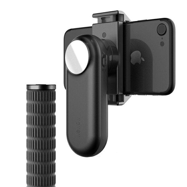 攝彩@WEWOWFancy手機智能穩定器全新2代款-墨影黑佳美能公司貨正品平衡器影片拍攝