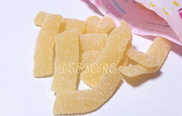 有樂町進口食品 北日本Fettuccine軟糖(水蜜桃口味)50g 4901360315833 3