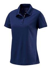 【【蘋果戶外】】荒野 W1621-72 深藍色 WildLand 女 疏水紗素色短袖POLO衫 吸濕排汗 運動上衣 休閒 運動 快乾透氣 輕薄舒適 大尺碼