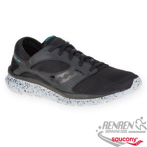 SAUCONY KINETA RELAY  男慢跑鞋 (黑) 緩衝避震
