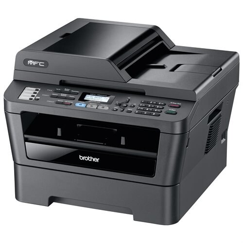 Refurbished Brother MFC-7860DW Laser Based Compact All-in-One Printer with Wireless Networking and Duplex Printing 0