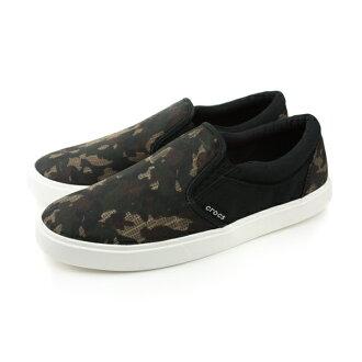 Crocs 休閒鞋 男鞋 黑色 no345