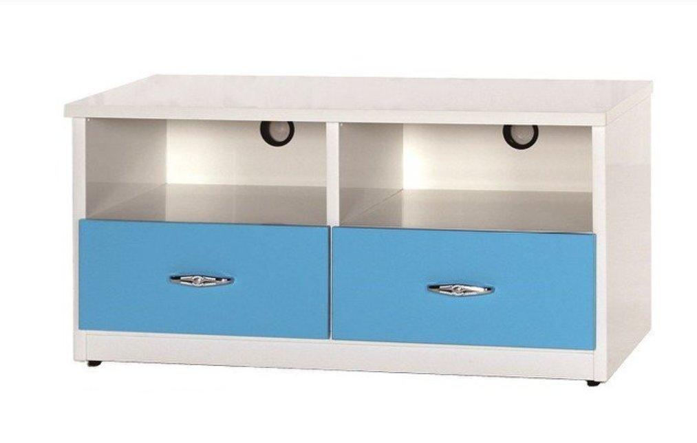 【石川家居】842-05 (3.3尺藍/白色)電視櫃 (CT-212) #訂製預購款式 #環保塑鋼P 無毒/防霉/易清潔