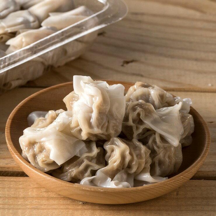 鮮肉餛飩 (48顆/盒) 招牌特色美食 精選食材 純手工包製的鮮肉餛飩 【鍾奶奶美味坊 】