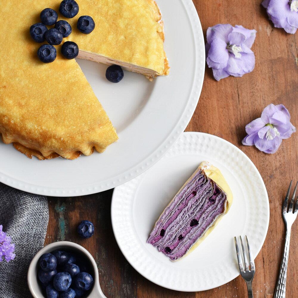 新品上市【塔吉特】藍莓甜心千層(8吋)★APP下單滿1000折100 3