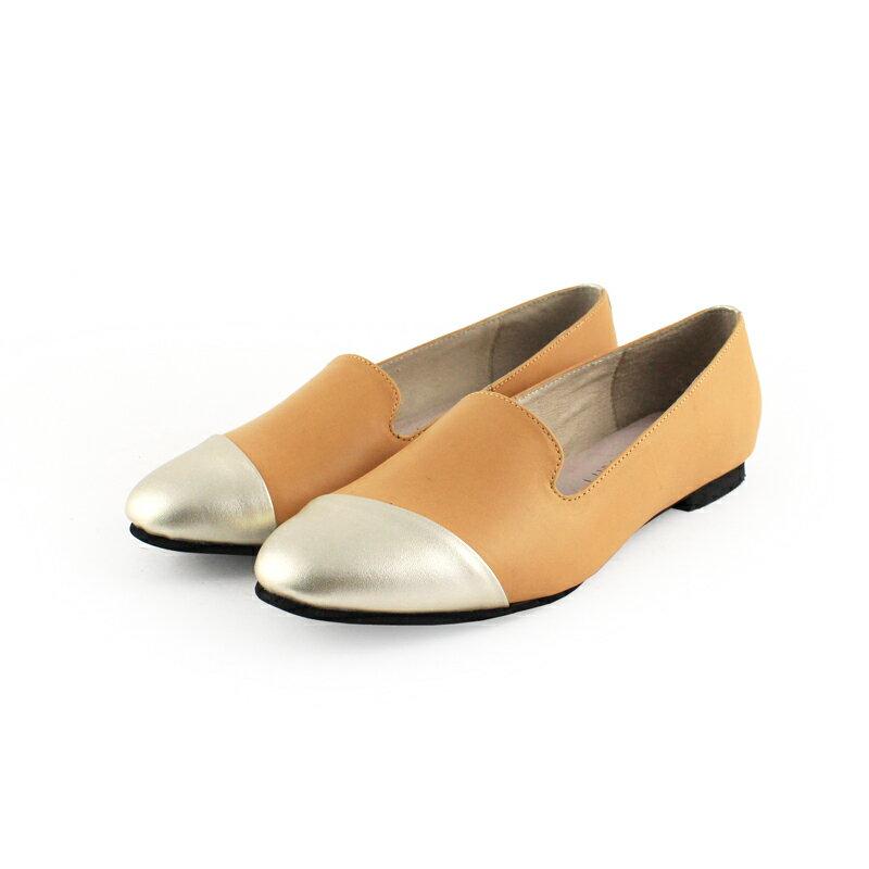 【 C2-17203L 】真皮拼接歐貝拉_Shoes Party 6