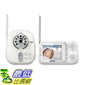 [8美國直購] 嬰兒監視器含夜視攝影機 VTech VM321 Video Baby Monitor with Automatic Infrared Night Vision, Adjustable Camera