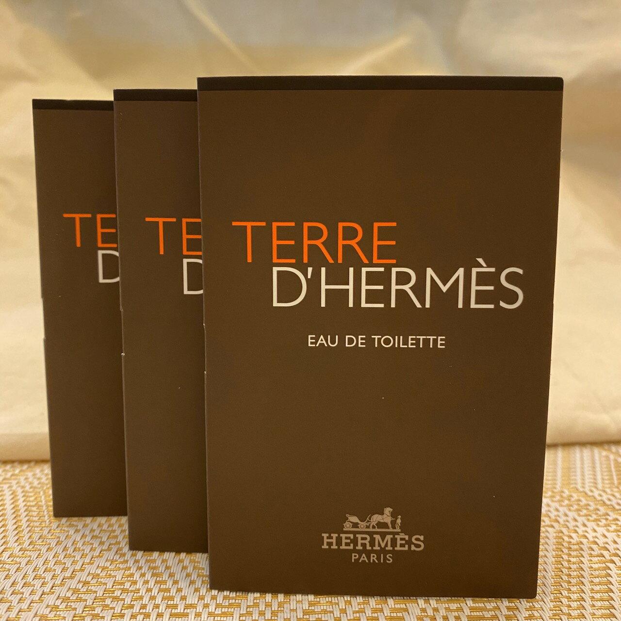 Hermes 愛馬仕大地極致清新淡香水 / Terre d'Hermes / 針管 / 試管 / 2ml*3 1