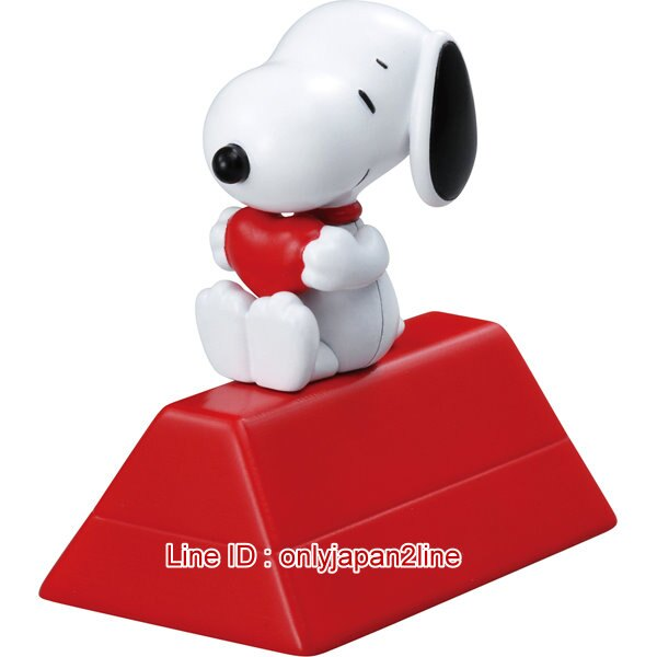 【真愛日本】17010700011合金公仔-SN紅屋抱愛心   史努比 SNOOPY  收藏 模型  正品 限量