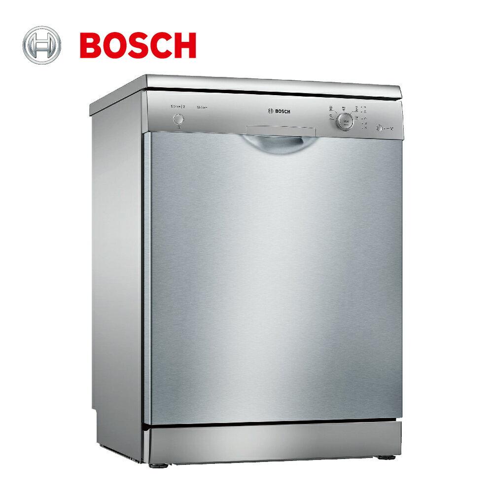 ★贈基本安裝【BOSCH博世】60cm 12人份 110V獨立式洗碗機(SMS25AI00X)