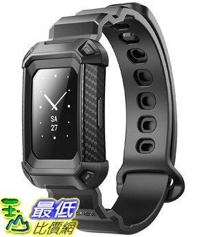[8美國直購] SUPCASE [Unicorn Beetle Pro Band for Fitbit Wristband Case with Strap for Fitbit Charge 2 (Black)
