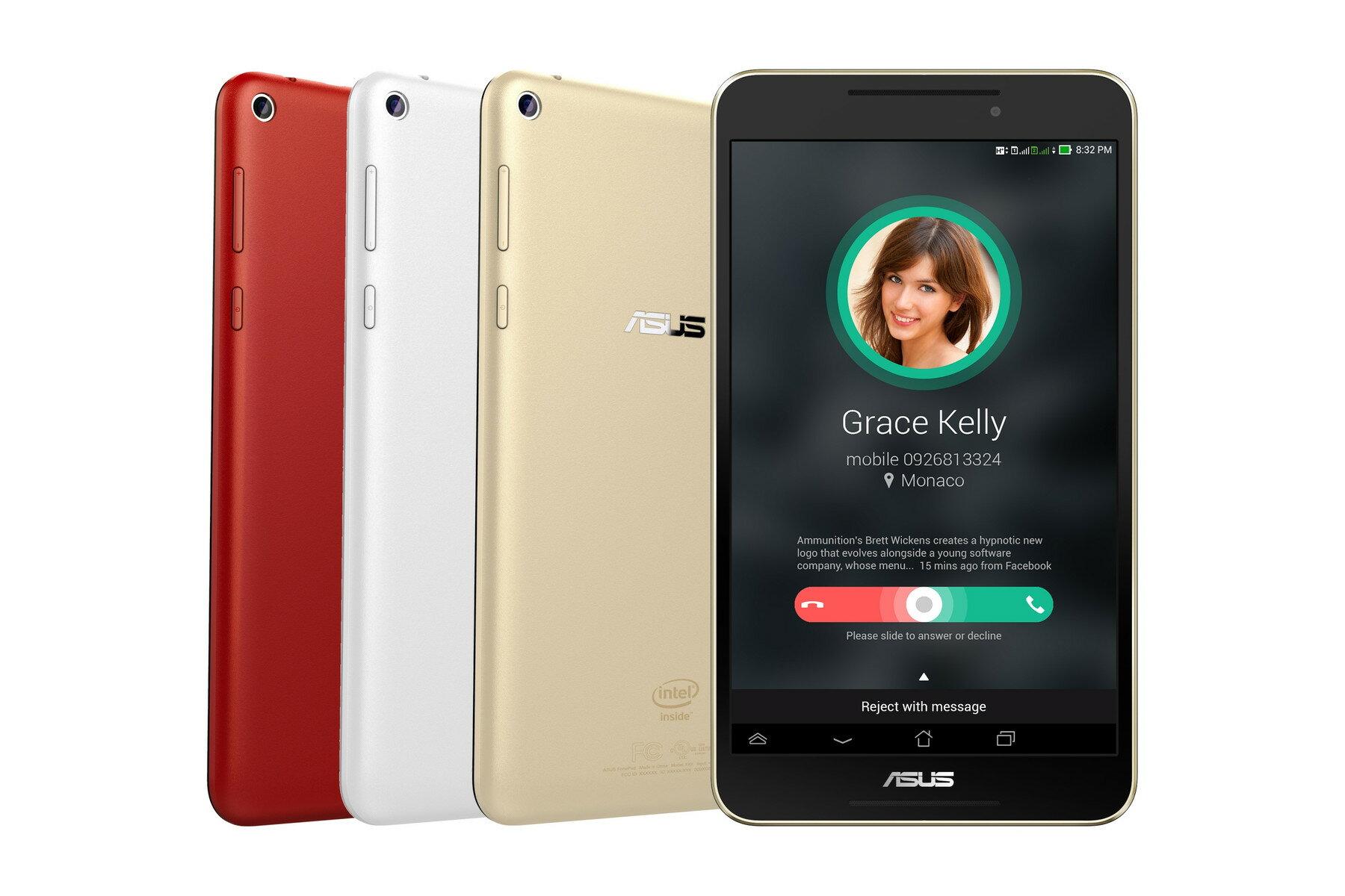 【門市拆封福利品 ASUS華碩】Fonepad 8 8吋 WiFi 四核心 超輕薄 雙卡雙待可通話平板 FE380CG 1G/8G