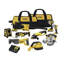 Deals on Dewalt Dck1020d2 20v Max Lithium-ion 10 Tool Combo Kit