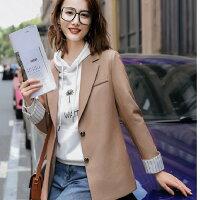 光感韓版中長反折袖外套[20X261-PF]灰姑娘-灰姑娘衣著館-流行女裝