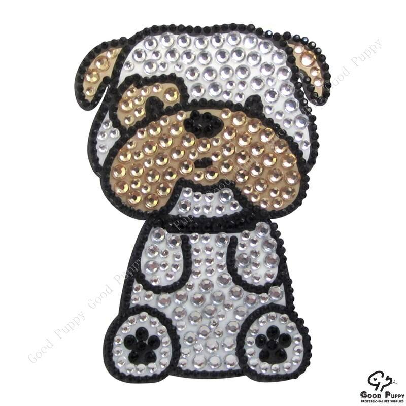 加拿大進口狗狗寵物水鑽貼紙-鬥牛犬92952 Bulldog* 手機/平板/電腦/iPad/iPhone/小禮物/贈品