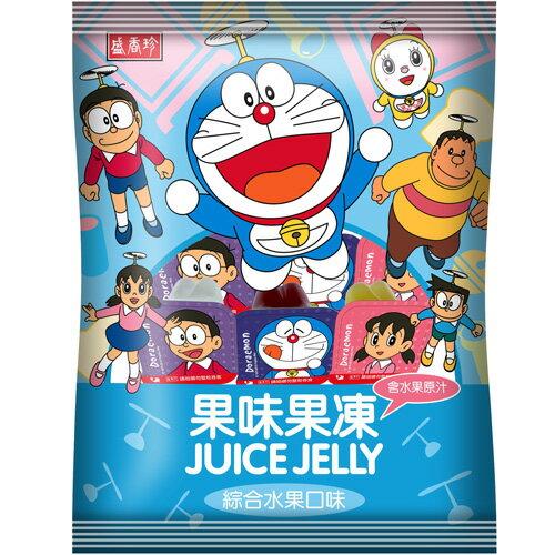 盛香珍 哆啦A夢果味果凍-綜合口味 420g