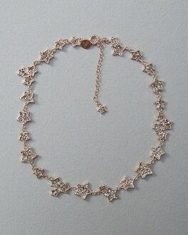 美國百分百【Abercrombie & Fitch】項鍊 頸環 飾品 水鑽 星星 AF 麋鹿 玫瑰金 H879