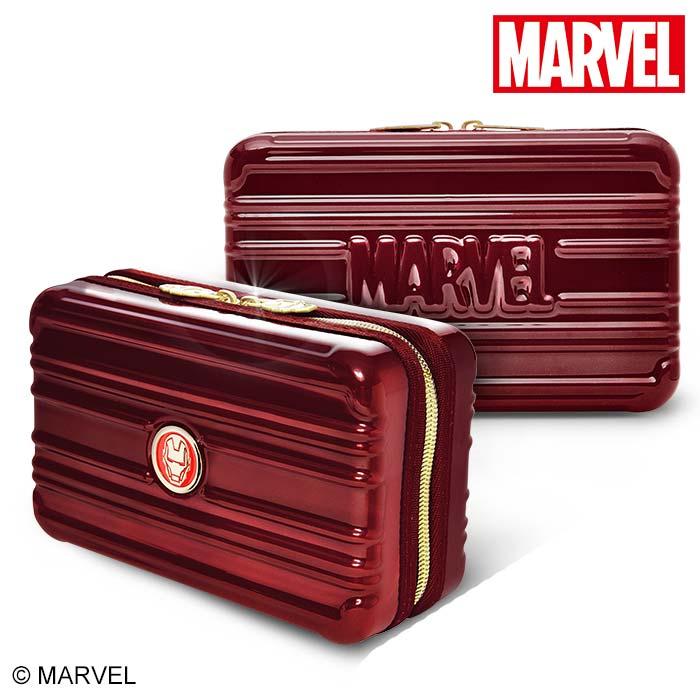 【加賀皮件】DESENO Marvel 漫威復仇者 硬殼旅遊多功能盥洗包 化妝包 航空包 鋼鐵人 TYL30001