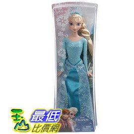 [美國直購] Disney 迪士尼 冰雪奇緣 Frozen Sparkle Princess Elsa Doll 艾莎 芭比娃娃