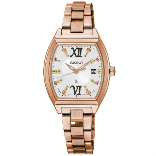 Seiko精工錶Lukia系列V137-0CE0J(SUT354J1)水晶刻度款熱愛生活時尚太陽能腕錶26mm