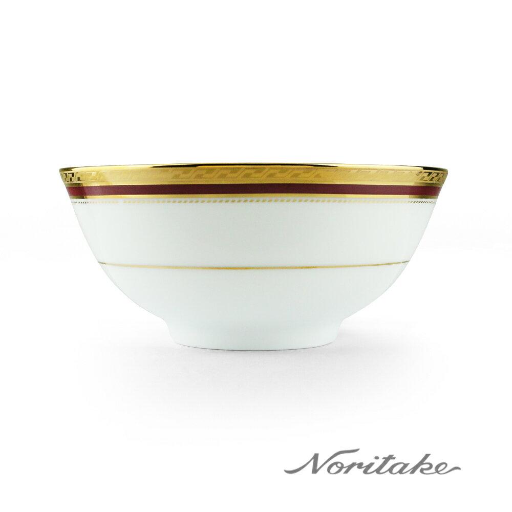 【NORITAKE】華漾風華金邊飯碗(12cm)
