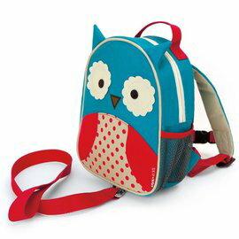 【淘氣寶寶】美國SKIPHOP可愛動物園ZOO-LET迷你防走失背包~附防走失帶(貓頭鷹Owl)